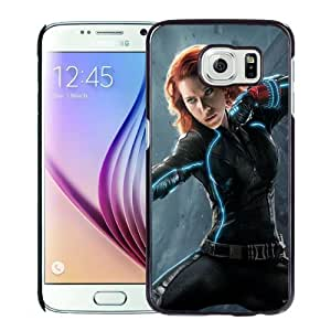 New Personalized Custom Designed For Samsung Galaxy S6 Phone Case For Avengers Age of Ultron Black Widow 640x1136 Phone Case Cover