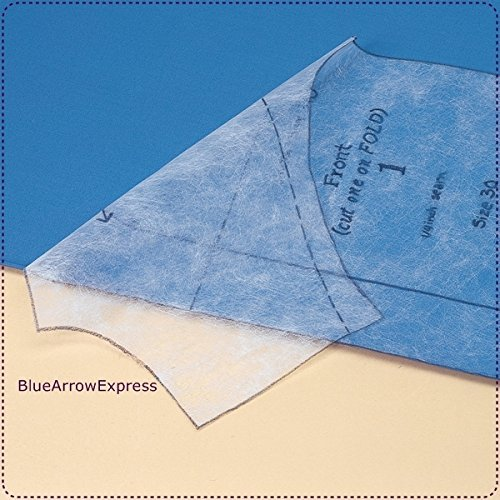 BlueArowExpress Pattern Tracing Material 48'' X 10 Yd. Washable, Durable, Drapable & Stitchable by SewKnitWorld
