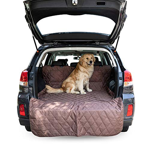 Furrry Buddy Pet Seat Liner for SUV, Water-resistant Dog Cargo Cover with Non-slip backing, Extra Bumper Flap Protector ()