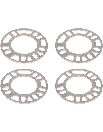 Sharplace 4 Piezas de 5 mm de Aleación de Aluminio Universal con Ruedas Espaciadoras para Coches