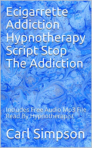 Used, Ecigarrette Addiction Hypnotherapy Script Stop The for sale  Delivered anywhere in Canada