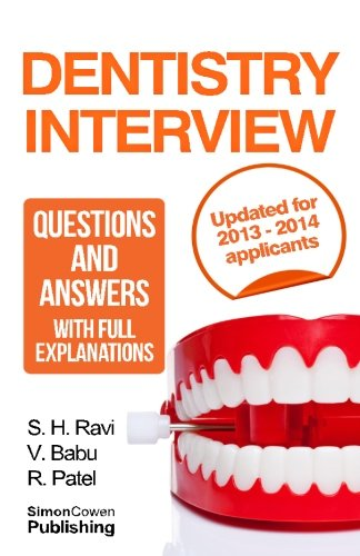 dentist interview questions and answers