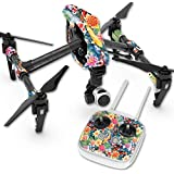 Skin For DJI Inspire 1 Quadcopter Drone – Koi Pond | MightySkins Protective, Durable, and Unique Vinyl Decal wrap cover | Easy To Apply, Remove, and Change Styles | Made in the USA