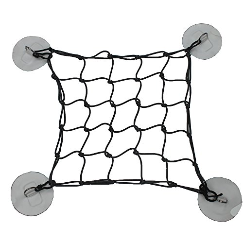 YYST SUP Deck Cargo Net Bungee Cargo Net with 4 PVC Patches (Instruction Included) - No Glue! by YYST