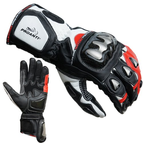 PROANTI Motorradhandschuhe Racing Pro Motorrad Handschuhe