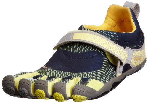 Vibram Five Fingers Bikila - Zapatillas de fitness de cuero para hombre Azul