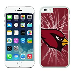 Arizona Cardinals iPhone 6 Cases 17 White 4.7 inches67581_53122-iPhone 6 Case - Anti-Scratch Hard Case for Iphone 6 4.7(inch),Case for for iPhone 6 Verizon