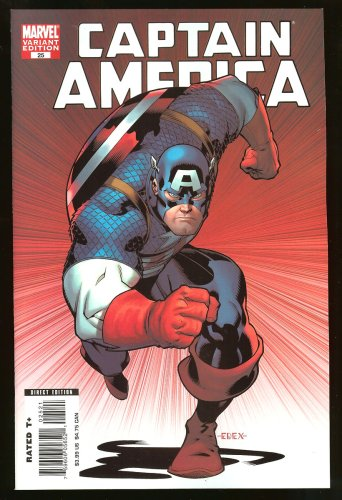 Epting Cover - Captain America #25 Death Of A Legend Variant Cover