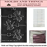 DANCE lolly kids chocolate candy mold © Molding Instruction + 50 packaging Kit