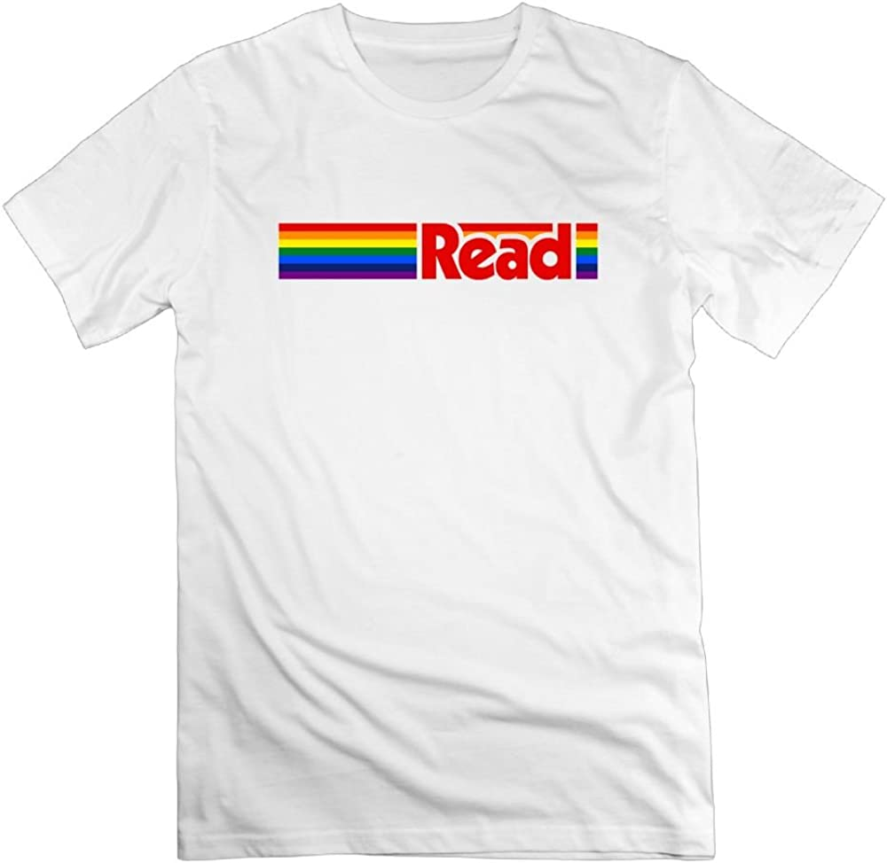 Tghd86 Znn Rainbow Reader Its in A Book Youth T-Shirt Childrens Tee