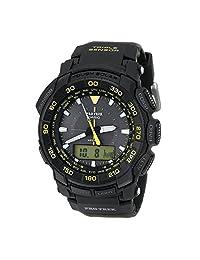 Casio Mens Pro Trek Analog-Digital Dress Solar Watch (Imported) PRG-550-1A9
