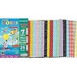Novaprint ECCVT0001, Bloco Para Educação Artística Textura 36Folhas, Multicolor