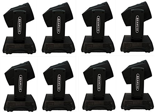 Eshine DMX 16/20 Channels Touch Screen 7R Sharpy Beam 230W Moving Head Light stage Lighting For Wedding Christmas Birthday DJ Disco KTV Bar Event Party Show (8PCS) Guangzhou Eshine Electronic Technology Limited