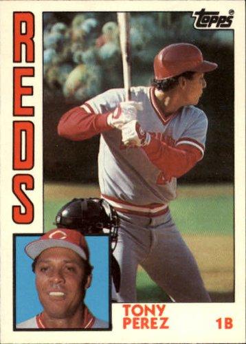 (1984 Topps Traded Baseball Card #91T Tony Perez)