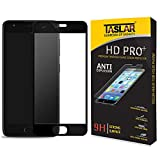 For Lenovo Zuk Z2 Plus Glass, Taslar(TM) Edge-to-Edge Full Coverage Tempered Glass Screen Protector for Zuk Z2 Plus [9H Hardness Glass Anti-Scratch] [Ultra High Definition Invisible] (Black)