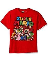 Boys' Super Mario Character Group Shot Graphic T-Shirt