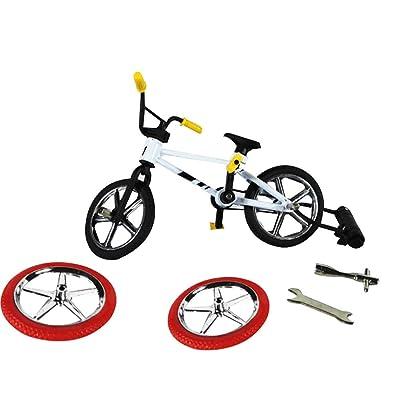 Yinpinxinmao Cute Metal Mini BMX Finger Mountain Bike Toys Kids Simulation Bicycle Model Random Color: Toys & Games