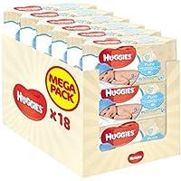 Huggies Pure 18 Packs de 56 lingettes (soit 1008 Lingettes)