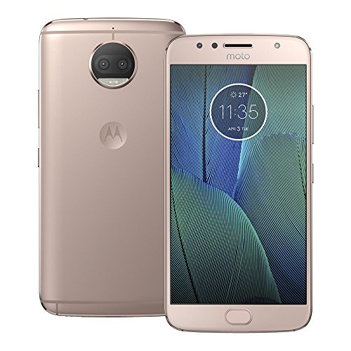 Motorola Moto G5S Plus (XT1803) 3GB / 32GB 5.5-inches Single SIM Factory Unlocked - International Stock No Warranty (Blush Gold)