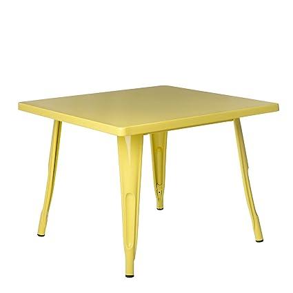Sklum Table Lix Kids Jaune Plus De Couleurs Amazon