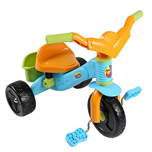 Virhuck Kids First Ride Trikes for Kids Toddlers Children Tricycle 3 Wheel Pedal Bike for 1 2 3 4 Years Old Kids Boys Girls, Multi-Coloured, Maximum Weight 30 KG by Virhuck (Image #1)