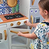 KidKraft Wooden Mosaic Magnetic Play Kitchen with