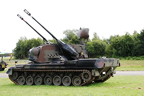 (Posterazzi A Gepard Anti-Aircraft Belgian Army. This Tank is Currently not in use Anymore. Poster Print (34 x 23))