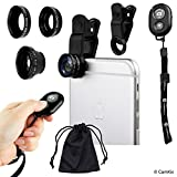 Universal 3in1 Camera Lens and Bluetooth Shutter