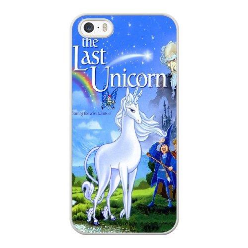 Coque,Coque iphone 5 5S SE Case Coque, The Last Unicorn Cover For Coque iphone 5 5S SE Cell Phone Case Cover blanc