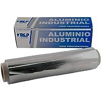 Rollo Papel Plata - Aluminio Industrial 30cm ancho.