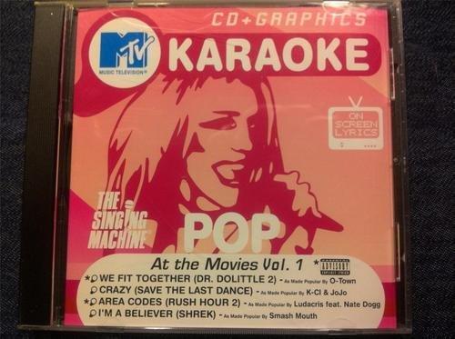 MTV Karaoke At the Movies Volume 1 & 2 CD + Graphics (2002-08-02)