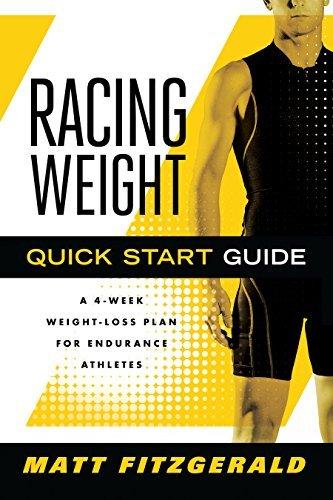 Racing Weight Quick Start Guide by Matt Fitzgerald (Jan 1 2011) (Matt Fitzgerald Racing Weight Quick Start Guide)