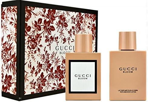 Gucci Bloom Gift Set 50ml Eau De Parfum Spray 100ml Body Lotion