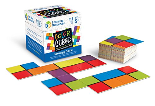 51Lr6lKSm6L - Learning Resources Color Cubed Strategy Game