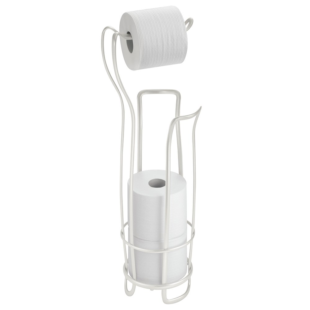 Axis Standing 1 3 Toilet Paper Roll Holder Chrome Stylish