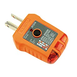 Klein Tools RT210 GFCI Receptacle Tester...