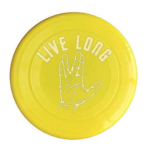DETED Customize Star Trek Live Long And Prosper Flying Disc - Yellow