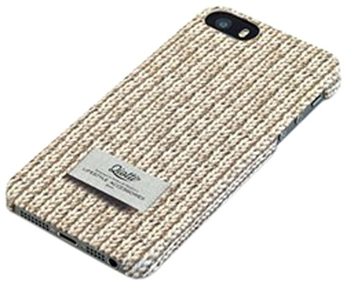 QIOTTI Pull Snap Case für Apple iPhone 5/5S Creme