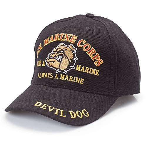 EagleEmblems U.S. Marine Corps Devil Dog Cap