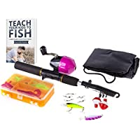 Tightlines Kids Fishing Rod for Girls | All-in-One Combo...