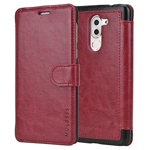 Huawei Honor 6X Case - Mulbess PU Leather Flip Cas…