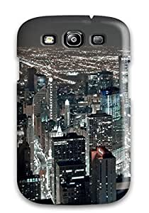 Hot NgVStyY2867hEjYX Case Cover Protector For Galaxy S3- Chicago City