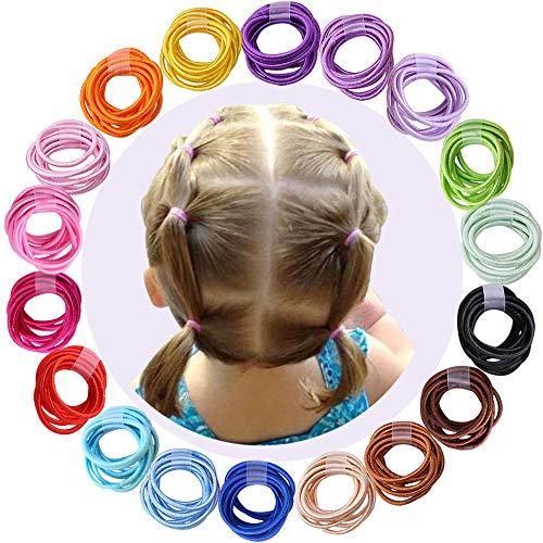180pcs 2mm Mix Colors Baby Elast...