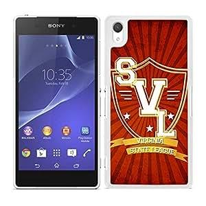 Funda carcasa para Sony Xperia Z3 diseño Virginia State League borde blanco