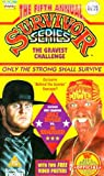 WWF: The 5th Annual Survivor Series [VHS]