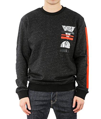 wiberlux-alexander-mcqueen-mens-geometric-print-flecked-sweatshirt-xl-black