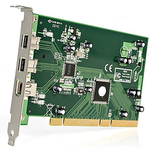 StarTech.com 3-Port 2b 1a PCI 1394b FireWire Adapter Card with DV Editing Kit (PCI1394B_3) by StarTech (Image #1)