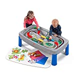 Deluxe Canyon Road Train & Track Play Table Playset