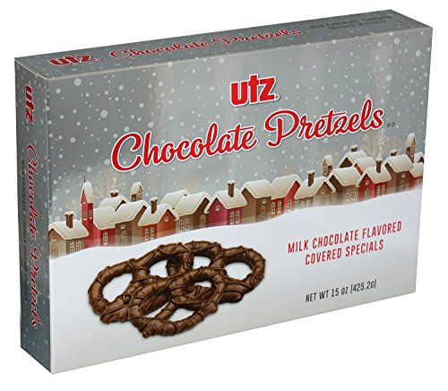 Utz Chocolate Pretzels 15 oz. Holiday Gift Box