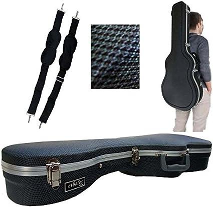 Estuche ABS para Guitarra Clásica, marca Cibeles (Azul Cuadritos ...